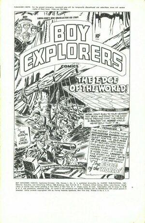 Boy Explorers Vol 1 2