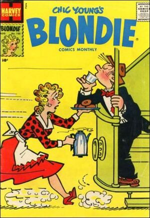 Blondie Comics Vol 1 105