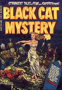 Black Cat Mystery Comics Vol 1 37