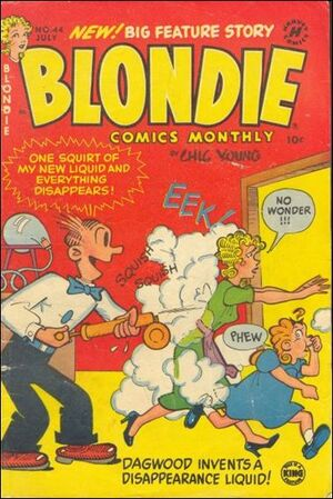 Blondie Comics Vol 1 44