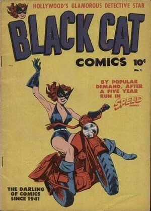 Black Cat Comics Vol 1 1