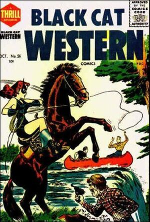 Black Cat Western Comics Vol 1 56