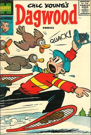 Dagwood Comics Vol 1 62