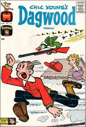 Dagwood Comics Vol 1 118