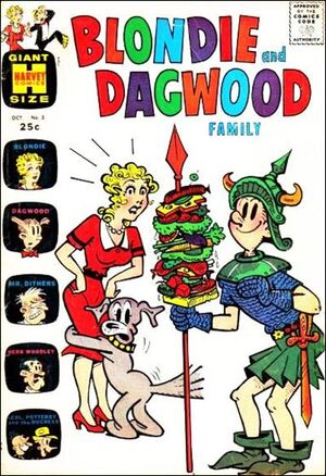 Blondie & Dagwood Family Vol 1 3