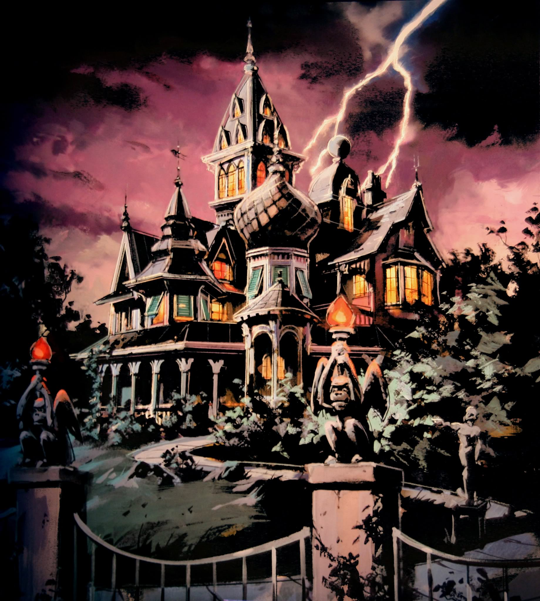Mystic Manor Haunted Mansion Wiki Fandom Powered By Wikia