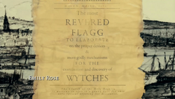 Revered Flagg in Haven 1698