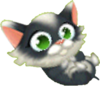 Tuxedo Kitten Playful