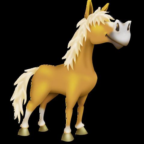 File:Palomino Horse.png