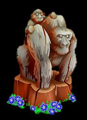 File:Gorilla Statue.png