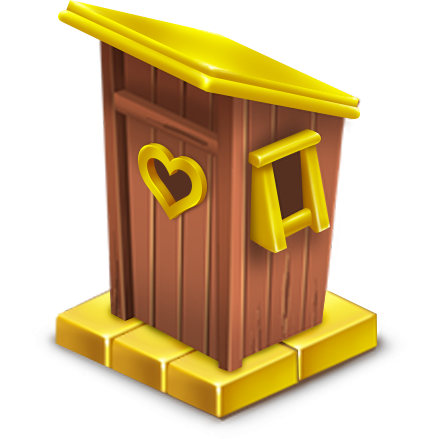 File:Golden Outhouse.png