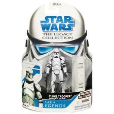 Clone Trooper action figure (Star Wars Legacy Collection Saga Legends - Revenge of the Sith)