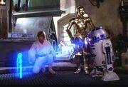 Leia's message