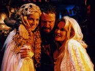 Sheri Moon Zombie, Rob Zombie and Karen Black