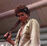Bill with machete