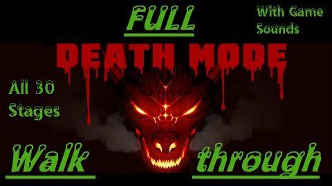 Death Mode FULL Walkthrough