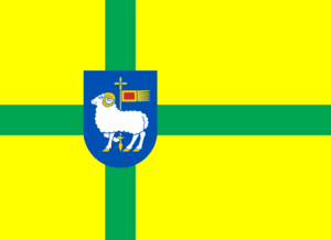 Gotland Flag+Coat Of Arms