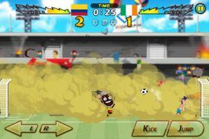 Colombia VS Ireland 3