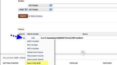 PubMed Advanced Search Builder