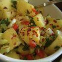 Potato salad with arugula