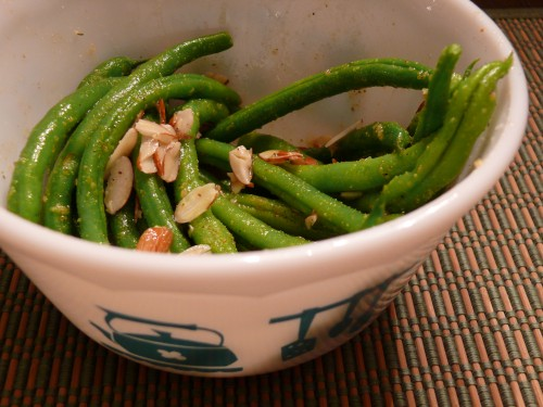 File:Green Beans and Almonds.jpg