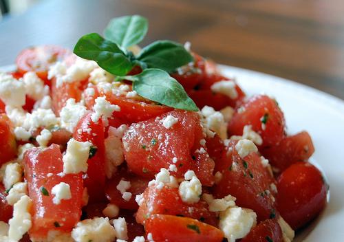 File:Watermelon and cherry tomato salad.jpg