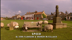 Speed title card