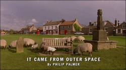It Came From Outer Space title card