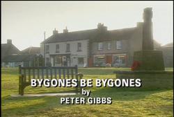 Bygones Be Bygones title card