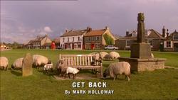 Get Back title card