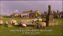 Another Sleepy. Dusty, Delta Day title card