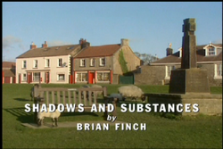 Shadows and Substances title card