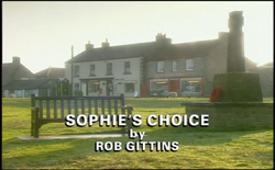 Sophie's Choice title card