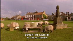 Down to Earth title card