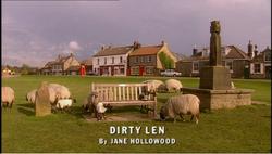 Dirty Len title card