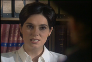 Fiona Dolman as Jackie Lambert in Where There's a Will