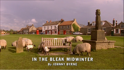 In the Bleak Midwinter title card