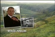Derek Fowlds as Ex-Sgt. Oscar Blaketon in the 1997 Opening Titles