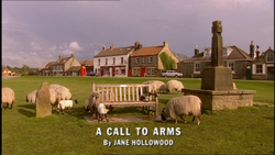 A Call to Arms title card