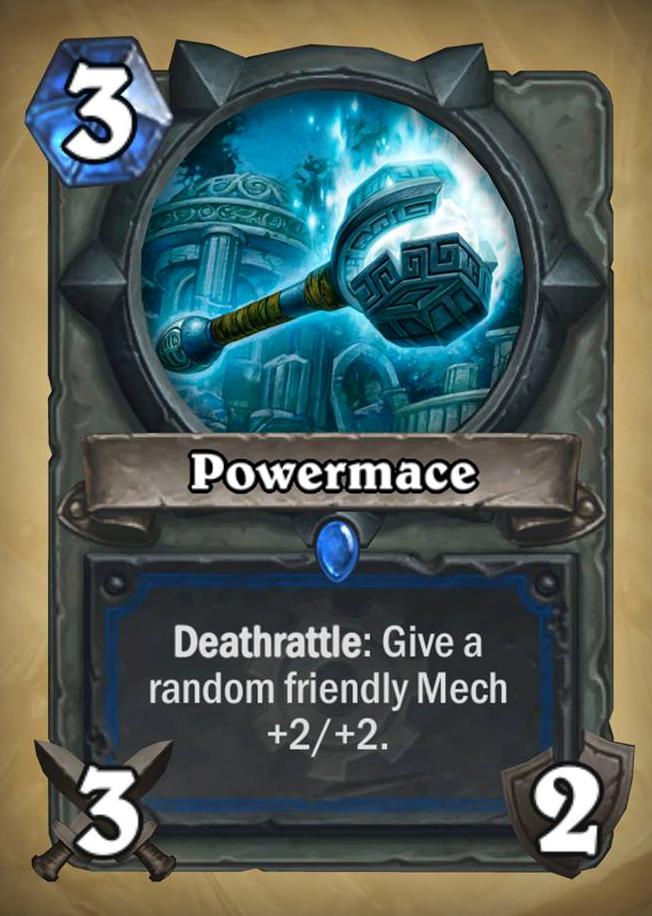 Powermace | Hearthstone: Heroes of Warcraft Wiki | Fandom powered by ...