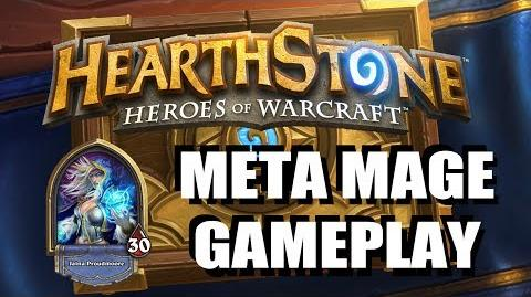 Meta Mage Gameplay - Hearthstone