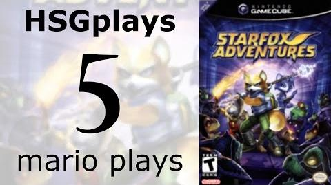 """HSGplays"" Mario Plays - Star Fox Adventures - Ice Mountain 2 Part 5"