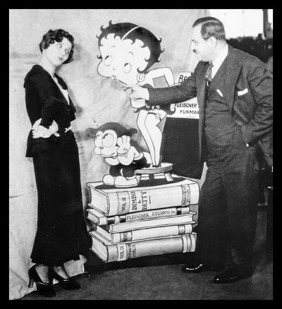 Mae Questel and Max Fleischer