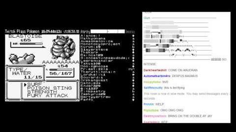 Twitch Plays Pokemon - Twitch VS Blue (FINAL BATTLE) Ending