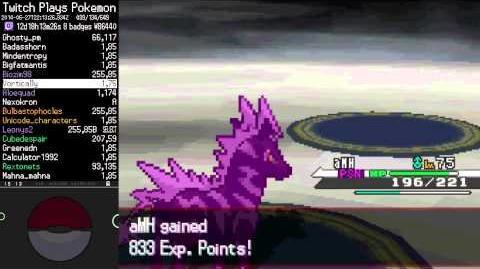 Twitch Plays Pokémon (Black) - Final Battle Vs