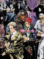 Vertigo characters