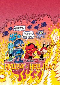 Hellboy in Hell, boy!