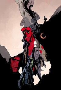 Hellboy 20th Anniversary Sampler