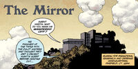 The Mirror title panel