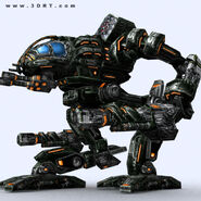 Character-sci-fi-3D-lowpoly-mech-robots-collection 20